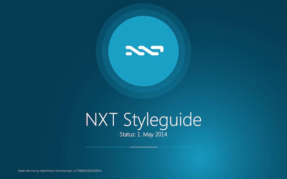 nxt styleguide