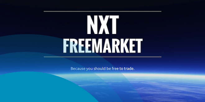 NXT FreeMarket launches with no fees for 2014