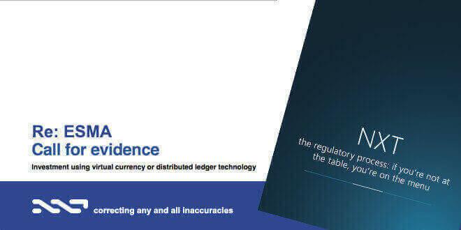 esma-call-for-evidence-intesa-sanpaolo-nxt-blockchain-investment
