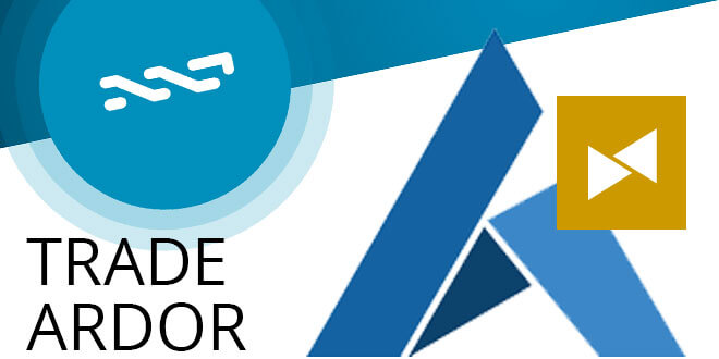 The ARDR token is trading!