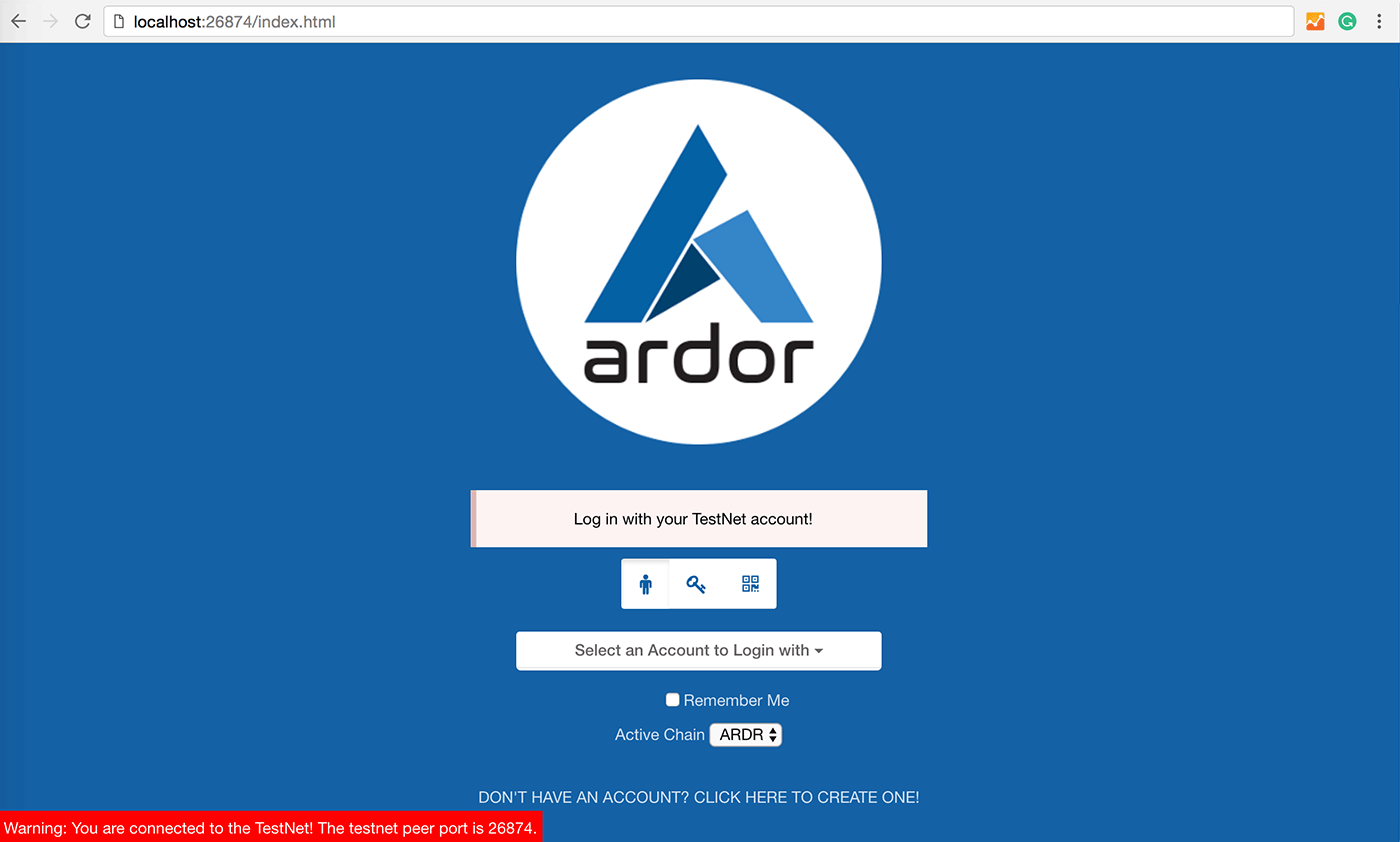 Ardor-testnet