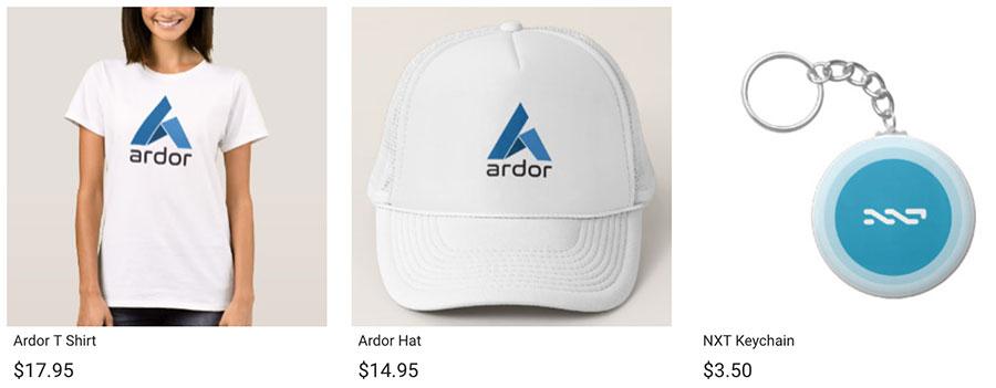 Puedes comprar muchos productos relacionados con Nxt y Ardor 3c262f66e0c