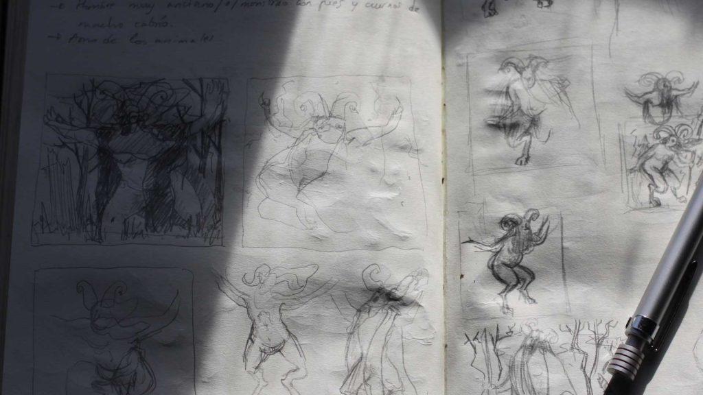 tarasca-sketch